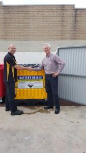 Battery Collection for Automotive Workshop - Parkland Mazda