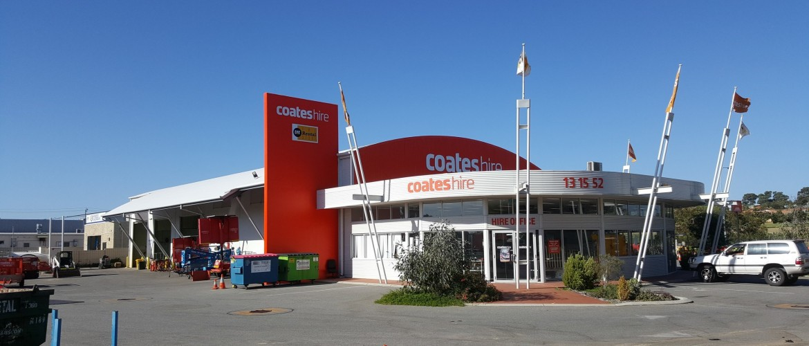 Used battery collection service for Perth Coates Hire sites