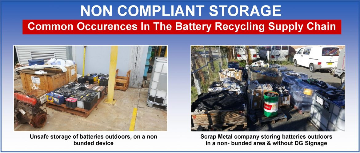 Used Battery Storage Non Compliance