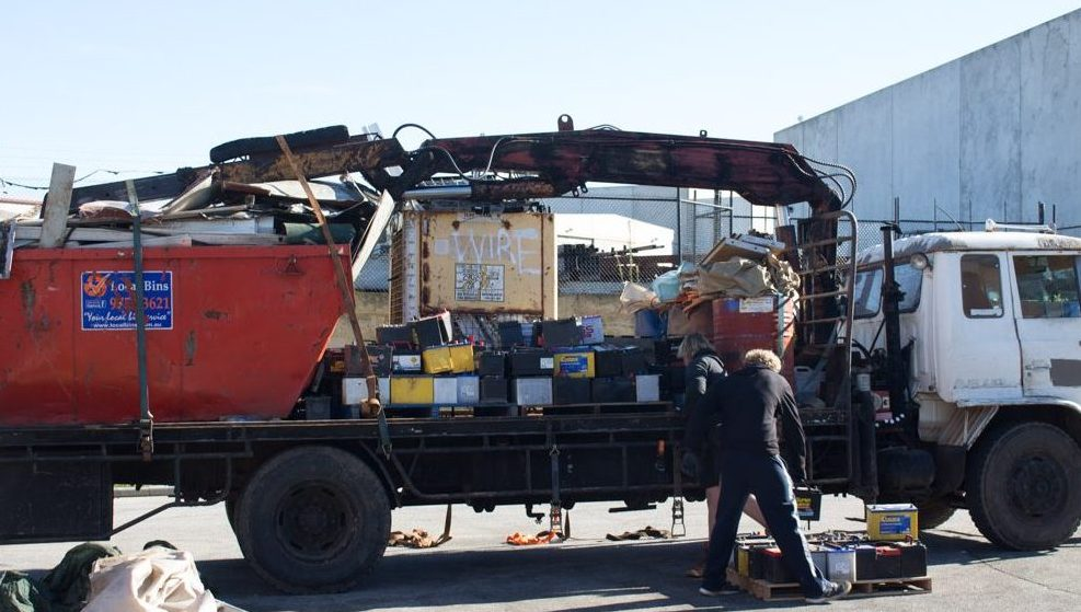 Unsafe & non-compliant transportation of used lead acid batteries from regional WA