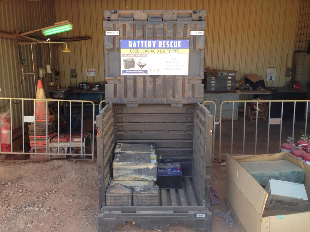 Battery Collection Service Established With First WA Mine Site