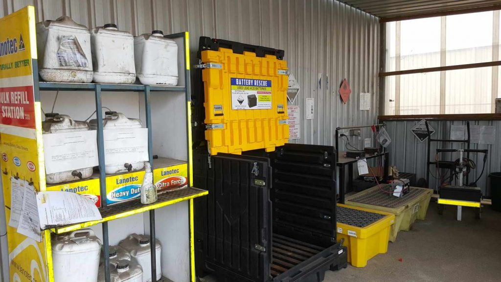 Lead Acid Battery Storage Regulations